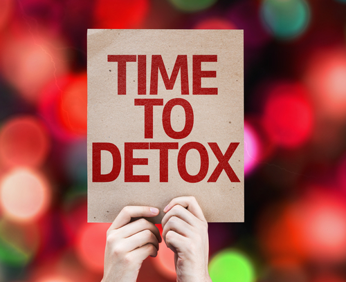 Time To Detox Sign