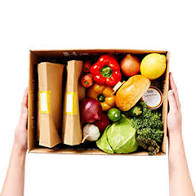Fresh Food Delivered Weekly - This is the box